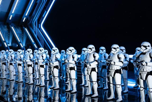 star wars stormtroopers at disney world